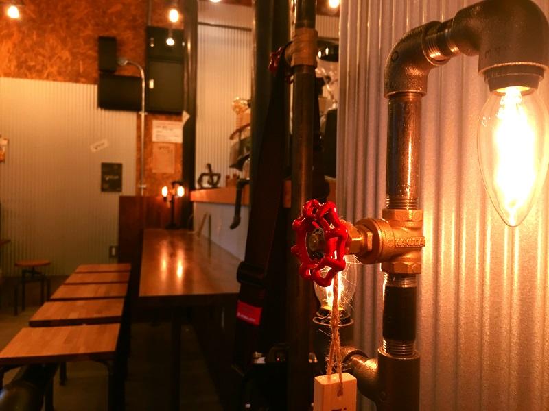 i-inai cafe (イイナイ カフェ) おしゃれで独創的なインテリア 三春町桜ケ丘